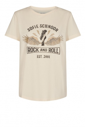 Sofie Schnoor |T-shirt with print | natural