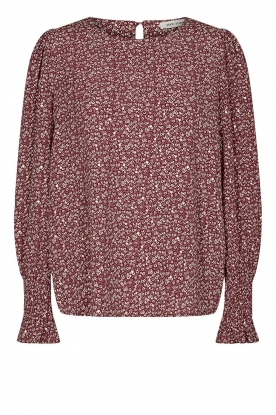Sofie Schnoor | Print top Scarlet | red