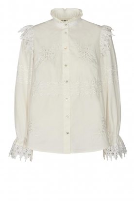 Sofie Schnoor |Broderie blouse Feliciti | wit