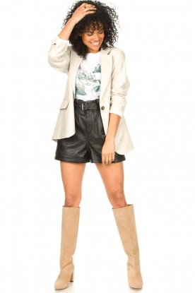 Look Leather short Sachi