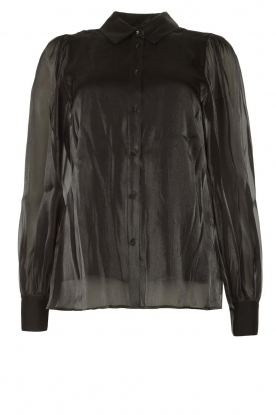 Dante 6 | See-through blouse Mauri | black