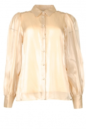 Dante 6 |  See-through blouse Mauri | natural