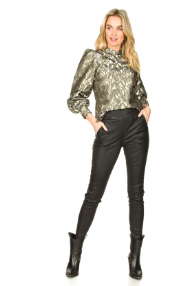 Look Jacquard blouse with Doyes