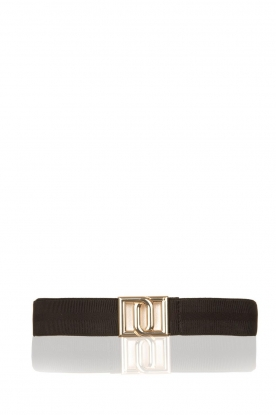 Dante 6 |  Logo belt Monogram | black