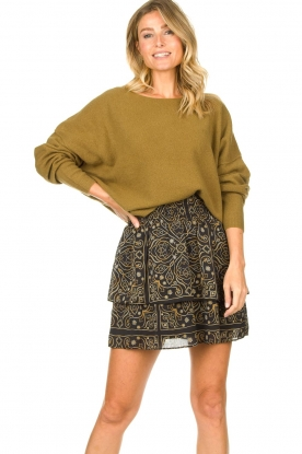 American Vintage |  Knitted sweater Damsville | green
