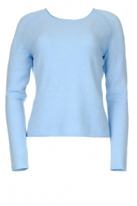 American Vintage | Fitted sweater Damsville | blue