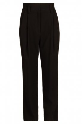 IRO | High waist pantalon Rexo | black