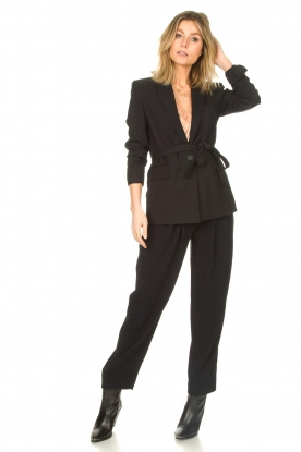 IRO |  High waist pantalon Rexo | black