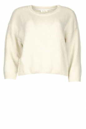 American Vintage | Knitted cotton sweater Cutebay | natural