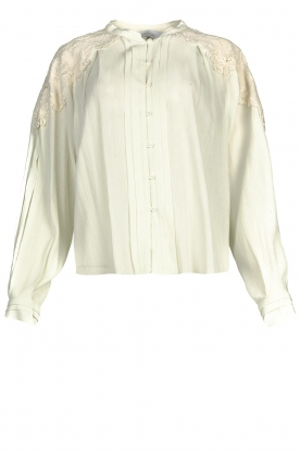 IRO | Broderie blouse Calistro | natural