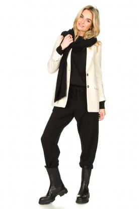 American Vintage    Merino wool sweatpants Tadbow   black