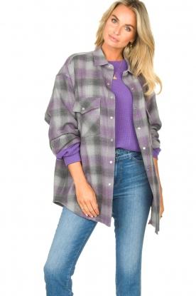 IRO |  Oversized blouse Gowest | grey