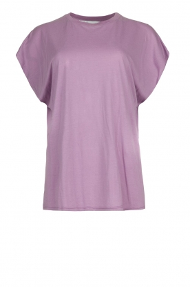 IRO |  Soft t-shirt Paulina | purple