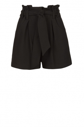 IRO |  High waisted short Steybe | black