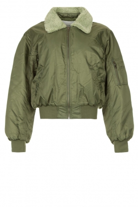 American Vintage |  Bomber jacket Akocity | green