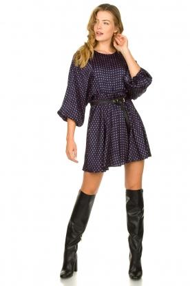 Look Printed dress Gitaka