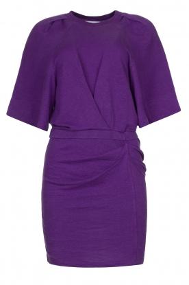 IRO |  Linen dress Livy | purple