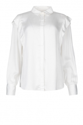 ba&sh | Blouse with schoulder detail Alia | white