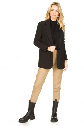 American Vintage |  Wool mix trousers Vyenna | natural