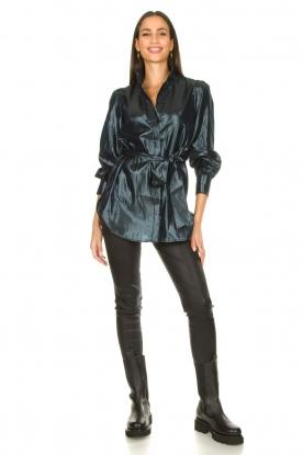 Look Shiny blouse Cili