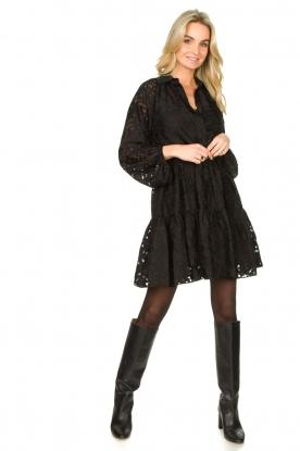 Look Semi sheer dress Harlie
