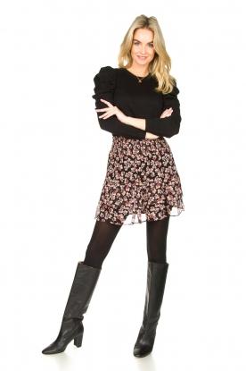 Look Floral skirt Fleurir