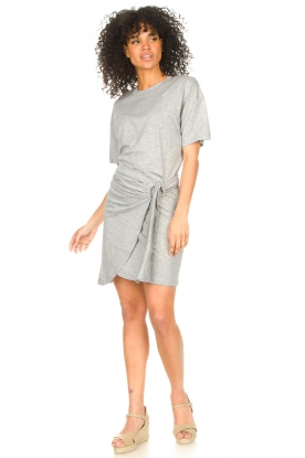 Look T-shirt dress with waistbelt Erika