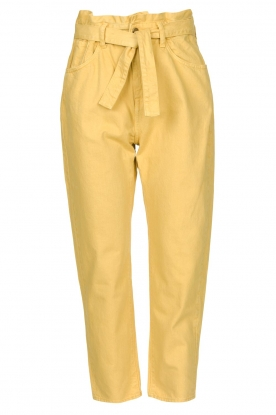 ba&sh |  Paperbag pants Jalia | yellow