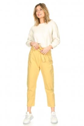 ba&sh |  Paperbag pants Jalia | yellow