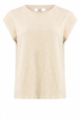 CC Heart | Cotton mix t-shirt Classic | natural