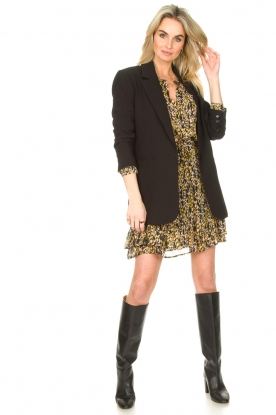 Look Leopard printed blouse Sas