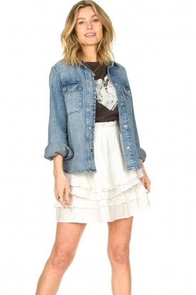 Set |  Denim blouse Sifra | blue