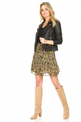 Look Leopard printed skirt Vic