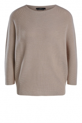 Set | Knitted sweater Viv | beige