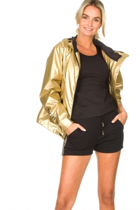 Goldbergh |  Windjacket Gloria | gold
