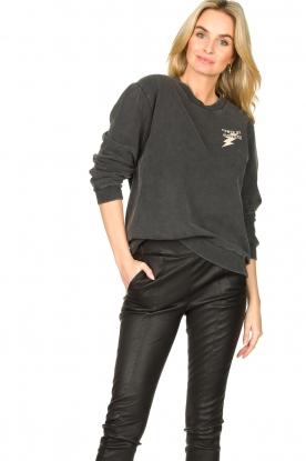 Sofie Schnoor    Cotton sweater Fiona   black