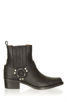 Toral |  Leather ankle boots Nikki | black