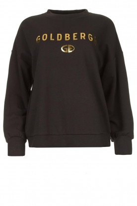Goldbergh | Luxurious logo sweater Flavy | black