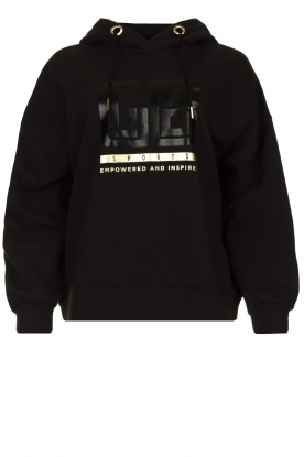 Goldbergh | Luxurious logo sweater Fiza | black