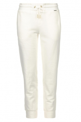 Goldbergh | Sport sweatpants Fania | white