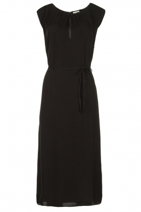 JC Sophie |  Midi dress with shoulder pads Fergie | black