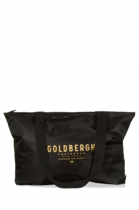 Goldbergh | Shopper Kopal | zwart