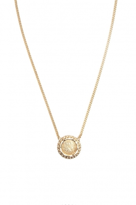 Mimi et Toi | 18k gold plated necklace Amandine | gold