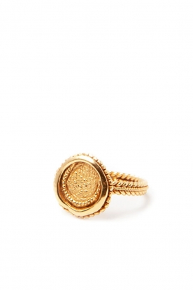 Mimi et Toi |  18k gold plated ring Creissant | gold