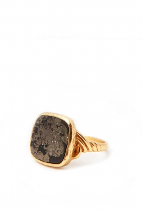 Mimi et Toi |  18k gold plated ring Delphine | gold