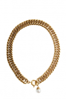 Mimi et Toi |  18k gold plated necklace Eglise | gold