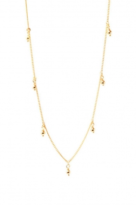 Mimi et Toi |  18k gold plated necklace Julienne | gold