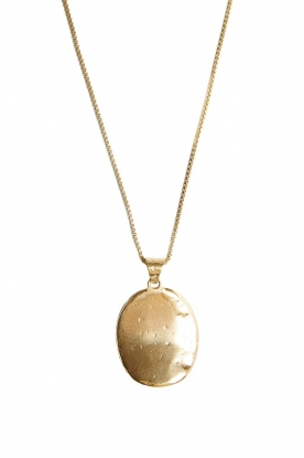 Mimi et Toi | 18k gold plated necklace Magali | gold
