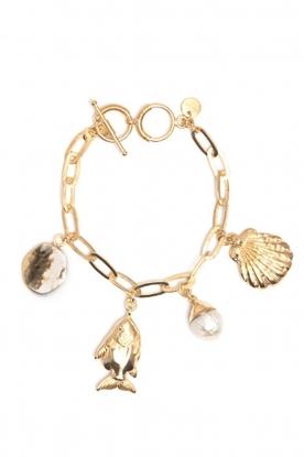 Mimi et Toi    18k gold plated bracelet Mai   gold
