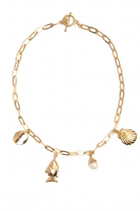 Mimi et Toi |  18k gold plated necklace Mai | gold